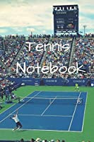 Tennis Notebook: (100 Pages, College Lined Paper, 6x9)
