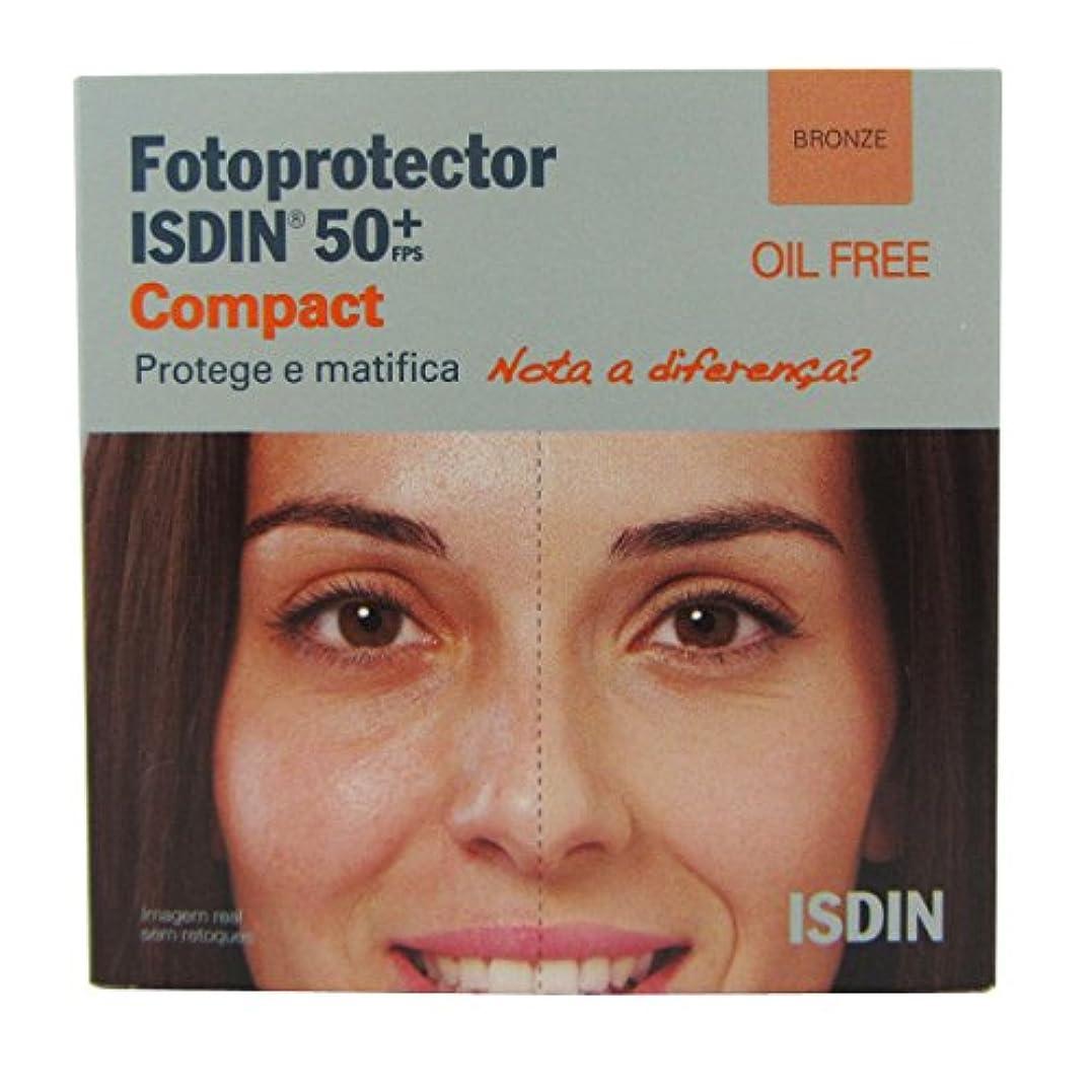 ジョガー翻訳者撤退Isdin Photoprotector Compact 50+ Bronz 10g [並行輸入品]