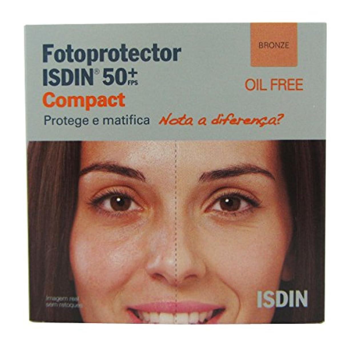 イベント誇張形成Isdin Photoprotector Compact 50+ Bronz 10g [並行輸入品]
