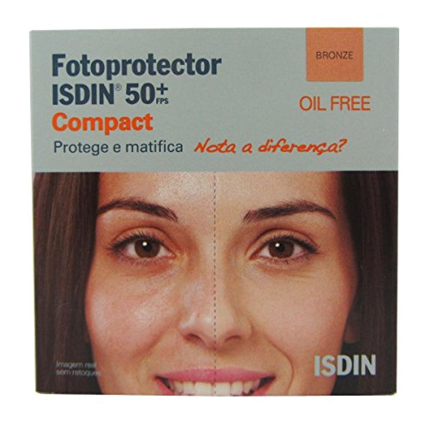 確認する請う拒絶Isdin Photoprotector Compact 50+ Bronz 10g [並行輸入品]