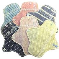 (ジャコンヌ) Jaconne コットン おりものシート 布ナプキン 6枚セット