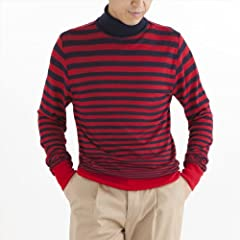 Turtleneck: Red