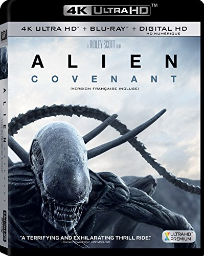Alien Covenant (Bilingual) [4K Blu-ray + Digital Copy] - Imported Ca.