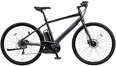Panasonic(パナソニック) 2018年モデル ジェッター BE-ELHC49A-B(フレームサイズ490mm) カラー:マットチャコールブラック 電動アシスト自転車 専用急速充電器付