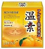 アース製薬 温素 柚子の香り 15包 入浴剤