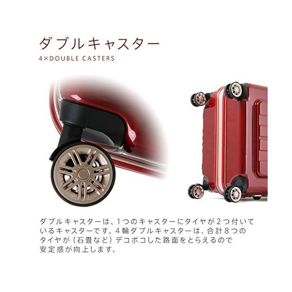 レジェンドウォーカー スーツケース ポリカーボ...の紹介画像3