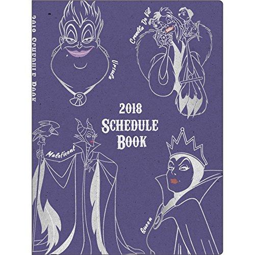サンスター文具 ディズニー 手帳 2018年 10月始まり ウィークリー B6 ヴィランズ&プリンセス S2939940