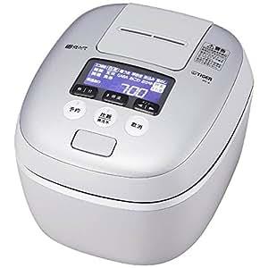 タイガー 圧力IH炊飯ジャー(5.5合炊き) ホワイトグレーTIGER 炊きたて JPC-A101-WH