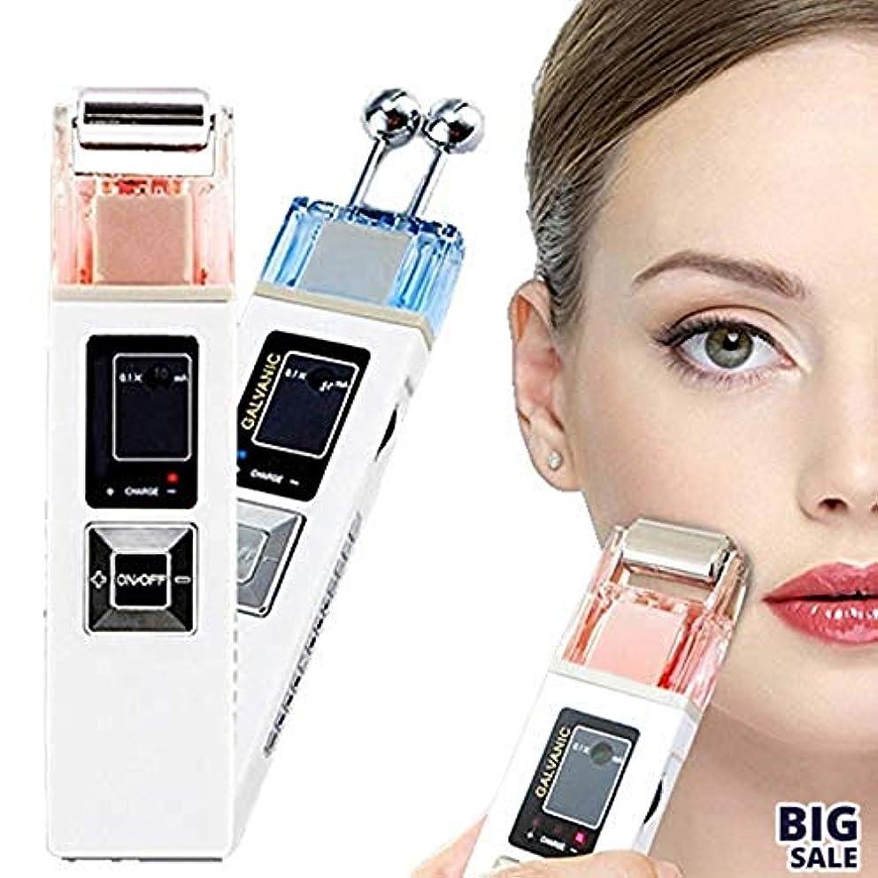 バスルーム苦行なぜNICEE5 1つの美顔装置に付き、無線周波持ち上がるEMS LCDライトガルバニックイオン療法は若返り、滑らかな良いラインスキンケアのきつく締まりますNICEY