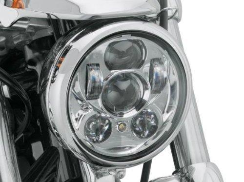 車検対応! 最新型 ハーレー純正 LED ヘッドライト クローム 67700144 67700144