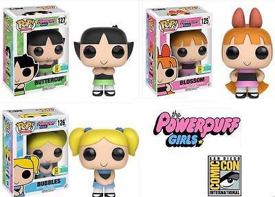2016コミコン限定 ファンコ ポップ パワー・パフ・ガールズ 3体セット SDCC 2016 Exclusive Funko POP! Powerpuff Girls - Complete Set of 3 【平行輸入品】