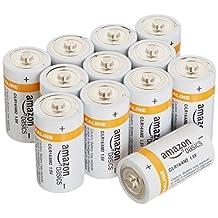 AmazonBasics C Cell Everyday Alkaline Batteries, 12ct