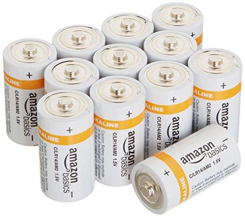 Amazonベーシック 単2型アルカリ乾電池 12個パック
