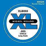 D'Addario ダダリオ ベース用バラ弦 ニッケル Long Scale .065 XLB065 【国内正規品】