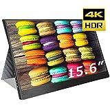 cocopar2019最新15.6インチ4k NTSC72%色域 モバイルモニター3840*2160 モニター 1080P USB Type-C / PS4 XBOXゲームモニタ/HDMIモバイルディスプレイ(厚さ4mm / 重さ830g) 保護ケース付重さ1.2kg (15.6-4K-NTSC 72%)