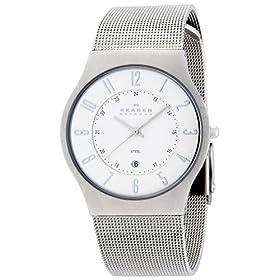 SKAGEN (スカーゲン) 腕時計 basic steel mens 233XLSS 36mm メンズ [正規輸入品]