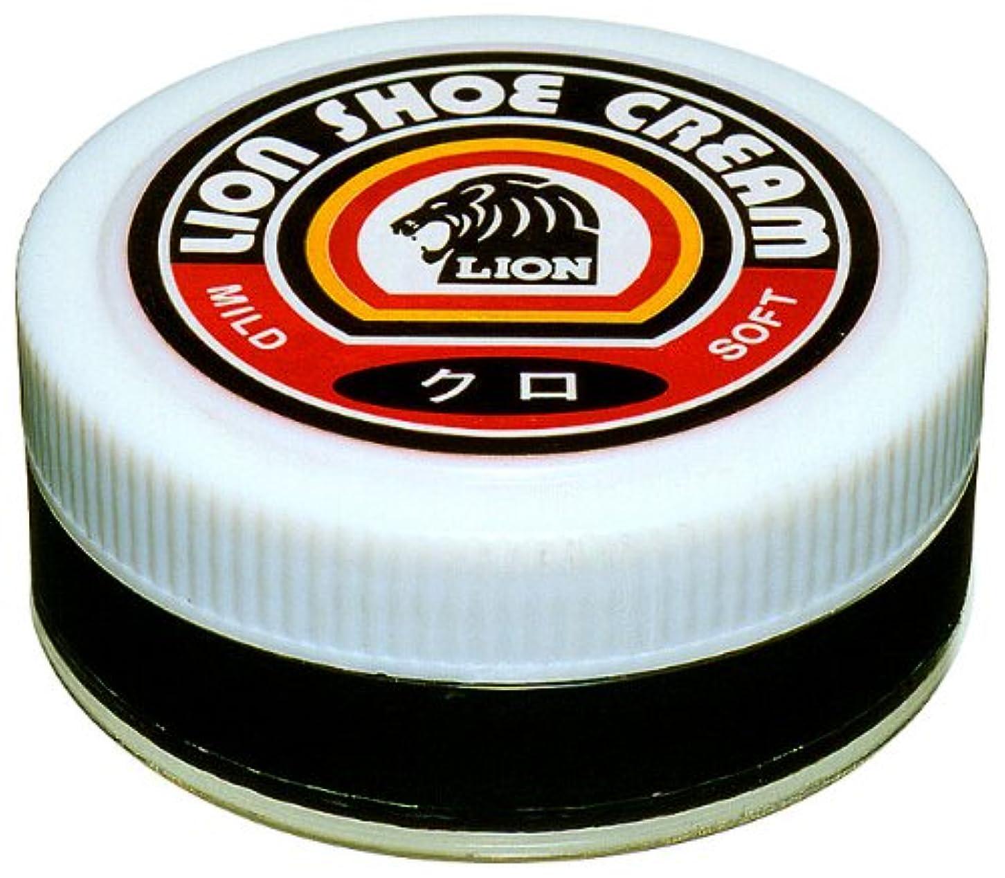 ラバ系統的セットアップライオン 靴クリーム レオ瓶入 45g (黒)