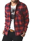 (リミテッドセレクト) LIMITED SELECT ゆうパケット発送 ネルシャツ メンズ 長袖 チェック シャツ ワークシャツ / R4L-0720 / M / O柄 5