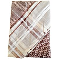 Desert Dress Men's Luxury Scarf Collection Afghan Arab Shemagh Prince Cool Rare Boutique Warm
