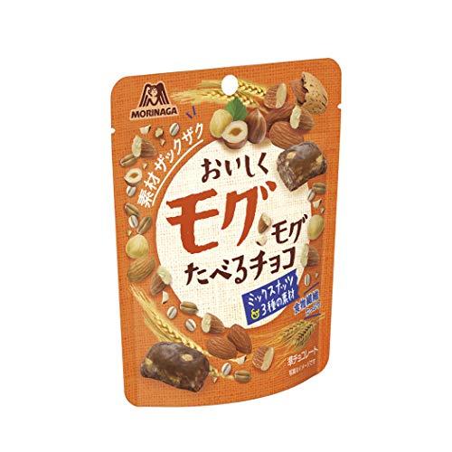 おいしくモグモグたべるチョコ ミックスナッツ 8袋