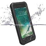 iPhone7ケース ZVE® 完全防水ケース アイフォン7用 4.7インチ スマホケース 防塵 防雪 耐衝撃カバ ー 指紋認識可 本体液晶保護フィルム付き(ブラック) (¥ 2,498)