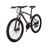 TSMBIKE X1-27.5 マウンテンバイク27.5インチ 変速21段 前3段×後7段 前後ディスクブレーキ 通勤自転車 通学マウンテン 自転車