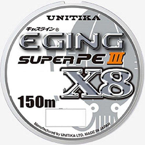 ユニチカ(UNITIKA) PEライン キャスライン エギングスーパーPEIII X8 150m 0.8号 6.5kg 3色分け