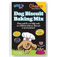 [OGGIS OVEN] Oggiのオーブン犬ビスケットベーキングミックス、チーズ - Oggi's Oven Dog Biscuit Baking Mix, Cheese [並行輸入品]