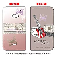 SECOND SKIN 手帳型スマートフォンケース Hal Ikeda 「Another Girl アッシュ」 / for AQUOS CRYSTAL 2/SoftBank・AQUOS CRYSTAL Y2 403SH/Y!mobile SSHCR2-IJTC-401-LJK4
