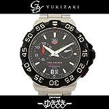 タグ・ホイヤー TAG HEUER フォーミュラ1 アラーム WAH111A.BA0850 ブラック文字盤 メンズ 腕時計 【中古】