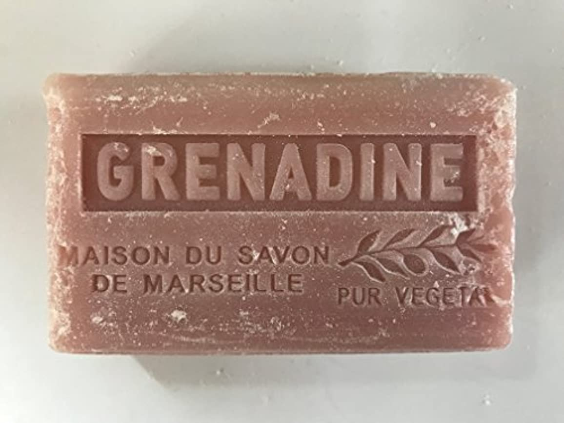 送料退化するピカソSavon de Marseille Soap Grenadine Shea Butter 125g