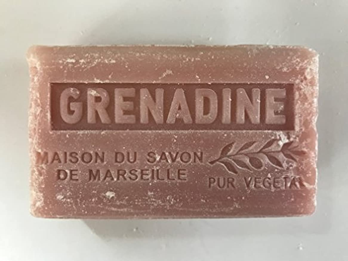 暴力ショット代替案Savon de Marseille Soap Grenadine Shea Butter 125g