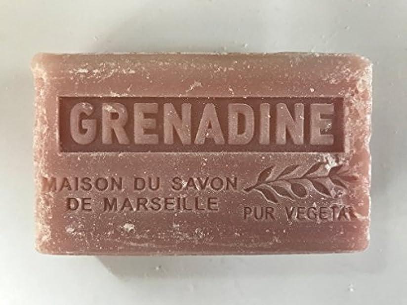 床石油航空便Savon de Marseille Soap Grenadine Shea Butter 125g