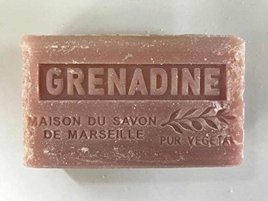 虐待エンディングバウンスSavon de Marseille Soap Grenadine Shea Butter 125g