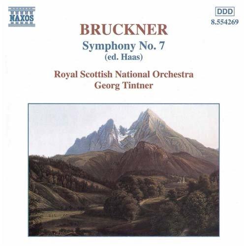 ブルックナー:交響曲第7番(ハース版)(ティントナー)
