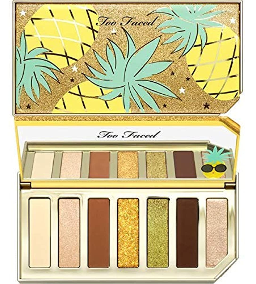 Too Faced SPARKLING PINEAPPLE EYE SHADOW PALETTE [並行輸入品]