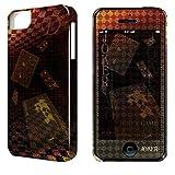 ライセンスエージェント デザジャケットジョーカー・ゲーム iPhone 5/5s/SEケース&保護シート DJAN-IPJ1-m01
