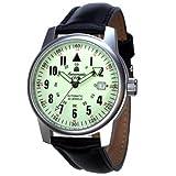 エアロマチック1912 腕時計 自動巻き 夜光針 夜光インデックス A1417[並行輸入品]