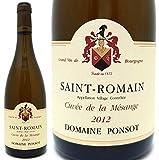 ポンソ サン・ロマン・キュヴェ・ド・ラ・メサンジュ・ブラン[2012] 白ワイン/辛口