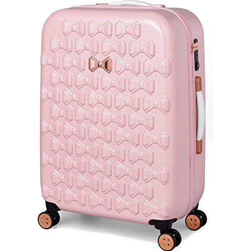 (テッドベーカー) TED BAKER LONDON レディース バッグ スーツケース・キャリーバッグ Bow Embossed Four-Wheel 27-Inch Trolley Suitcase [並行輸入品]