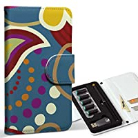 スマコレ ploom TECH プルームテック 専用 レザーケース 手帳型 タバコ ケース カバー 合皮 ケース カバー 収納 プルームケース デザイン 革 フラワー 花 植物 001324