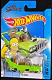 2014 Hot Wheels The Simpsons The Homer F CASE HW City Tooned #89/250 [並行輸入品]