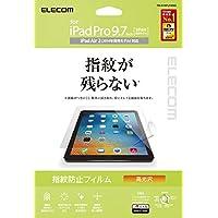 エレコム iPad フィルム 新型 iPad 9.7 2018(第6世代・新しい9.7インチiPad)/2017/2016 指紋防止 気泡が目立たなくなるエアーレス加工 高光沢 【日本製】 TB-A16FLFANG