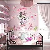 Minnie Mouse Wall Stickers Vinyl Decals Kids Girls Nursery Baby Room Decor