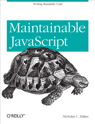 Maintainable JavaScript: Writing Readable Code (English Edition)の詳細を見る