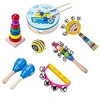 Kesoto 全3種類 音楽おもちゃ 子供玩具 誕生日 クリスマス プレゼント - 8個