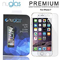 nuglas 液晶保護ガラスフィルム for iPhone7 日本製ガラス使用 硬度9H 厚さ0.3mm 2.5Dラウンドエッジ加工 03n7