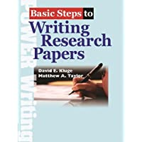 Basic Steps to Writing Research Papers Student Book with Workbook (192 pp)