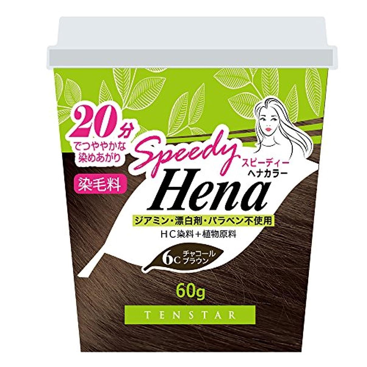 スタジアム守銭奴モディッシュTHH-02 テンスター スピーディー ヘナカラー チャコールブラウン 60G