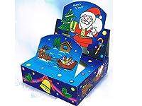 販促用 贈答用 記念品 箱ティッシュ 林製紙 新クリスマス20W 100箱